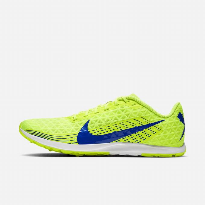 Pointes Athlétisme Homme Nike Zoom Rival Waffle 2019 Fluo 5329-710